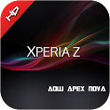 Xperia z theme 4 all launcher icon
