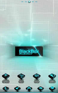Blackbox GO LauncherEX Theme - screenshot thumbnail