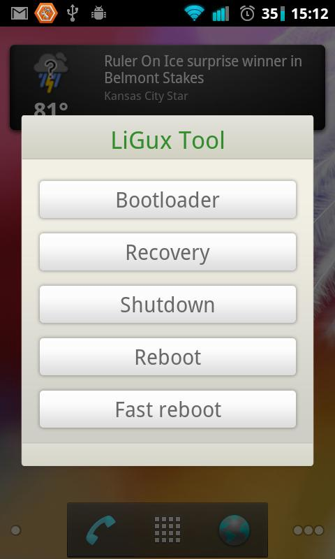 LiGux Tools - screenshot