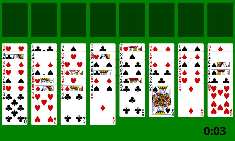 Card Game - Solitaire - screenshot