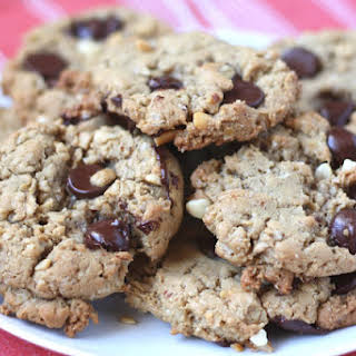 Oatmeal Chocolate Chip Peanut Butter Cookies.