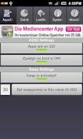 Screenshot of A2SDGUI - Darktremor A2SD GUI