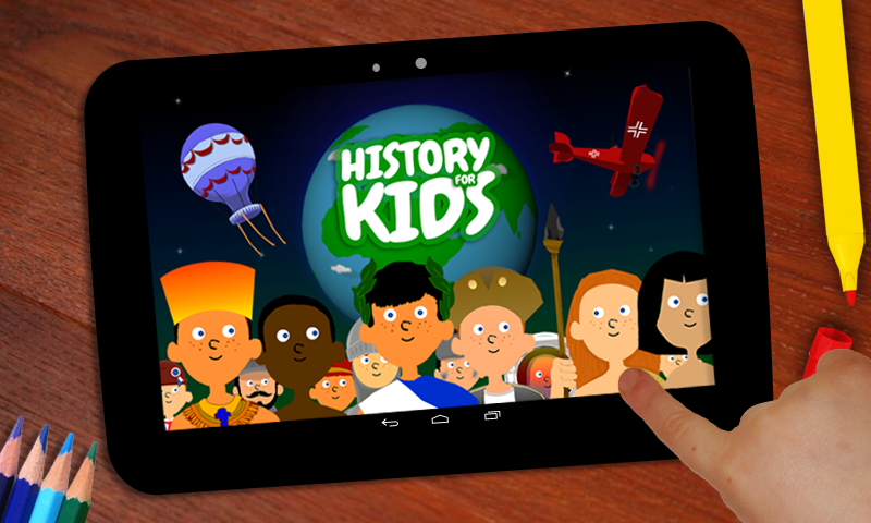 History For Kids- screenshot