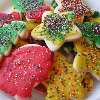 Cut Out Cookies For Santa.