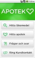Screenshot of Apotek Hjärtat
