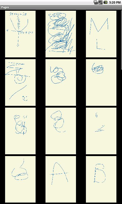 Sketch Notes- screenshot