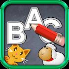 QCat - 学龄前幼儿学写字母ABC icon