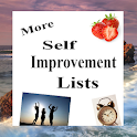 More Self Improvement Lists