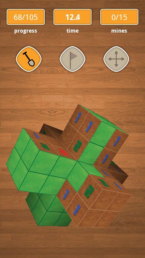 Minesweeper 3D- screenshot