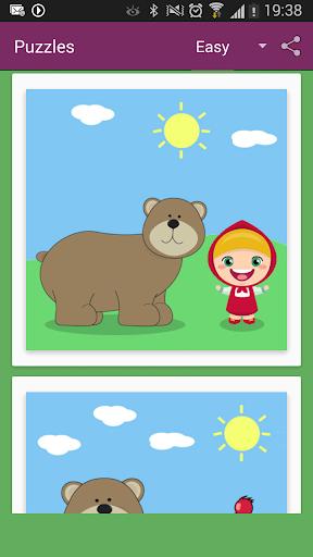 Bimba e Orso Puzzle