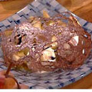 Kanten Chocoladepannenkoekjes Met Peer, Chocolade Ijs En Gebakken Poire Williams