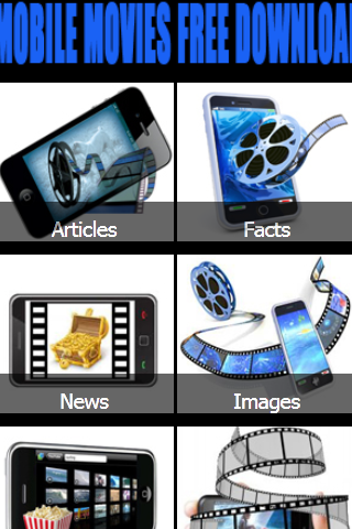 Mobile Movies Free Download - screenshot