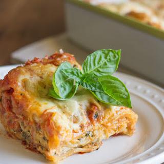 Spinach and Artichoke Chicken Lasagna Recipe