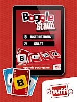 Screenshot of BOGGLESLAMCards by Shuffle