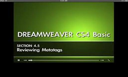 Easy Dreamweaver CS4 Training