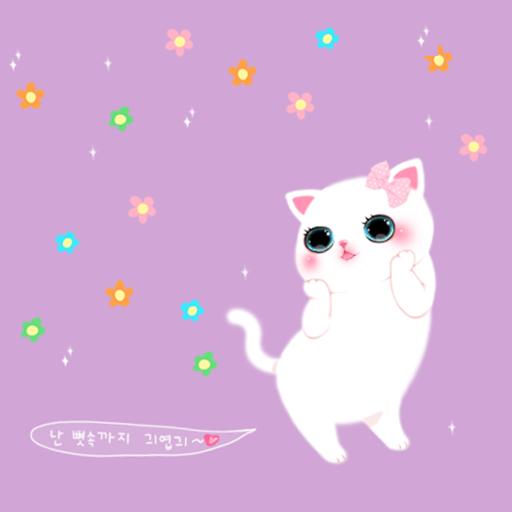 CUKI Theme Cute Cat paper LOGO-APP點子