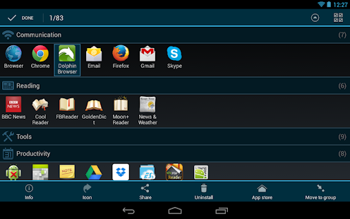 Glextor App Manager Organizer - screenshot thumbnail