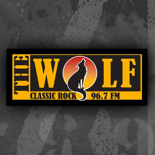 96.7 The Wolf LOGO-APP點子