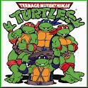 80s Cartoon Sb: TMNT! logo
