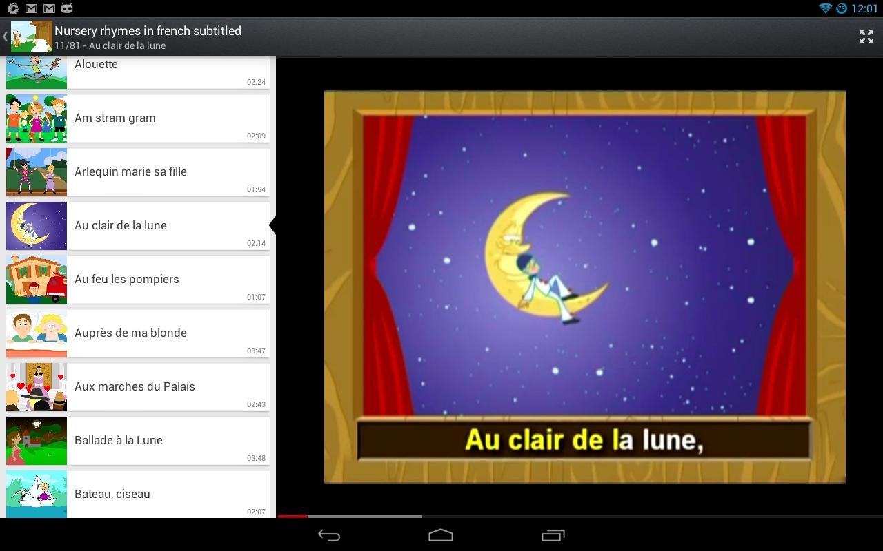 Songs, Cartoons...for Children - Android Apps on Google Play