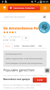 Thuisbezorgd.nl - screenshot thumbnail
