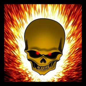 Flaming Skull Live Wallpaper apk
