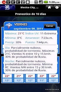 MeteoInfo - screenshot thumbnail