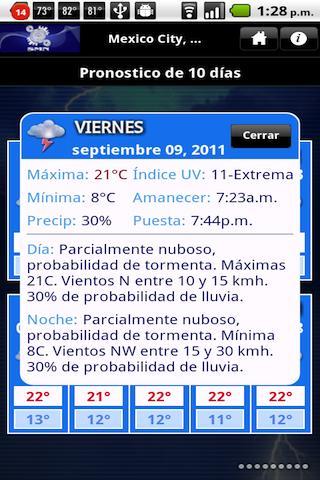 MeteoInfo - screenshot