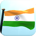 India Flag 3D Live Wallpaper icon