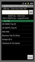 Screenshot of Mi Trip LITE