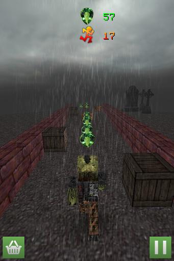 Zombie Run and Craft