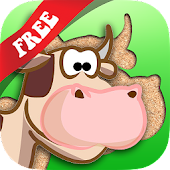 Farm Animals Puzzle Kids Free