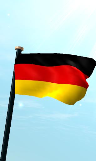 德國旗3D免費動態桌布