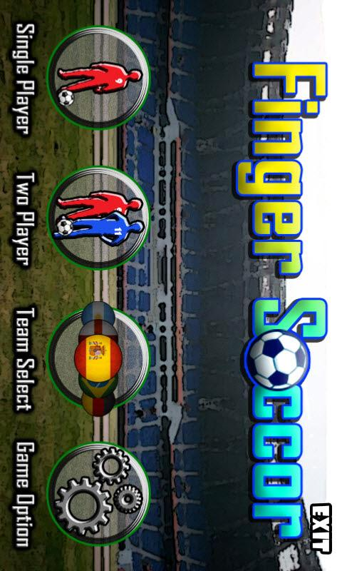 Finger Soccer Lite - screenshot