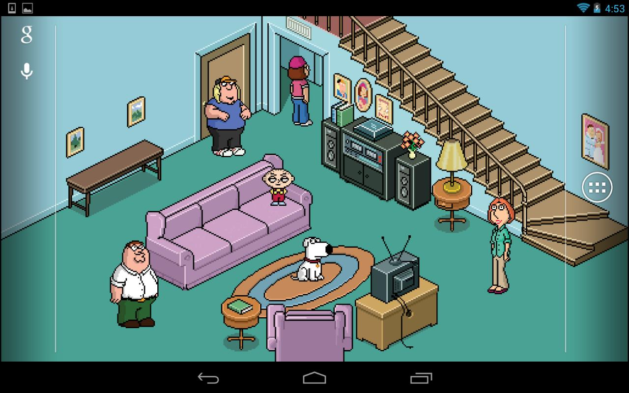 family guy live wallpaper - google play store revenue & download