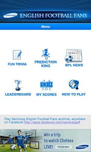 Samsung English Football Fans - screenshot thumbnail