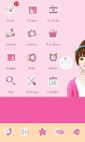 Screenshot of Sweetgirl icon theme