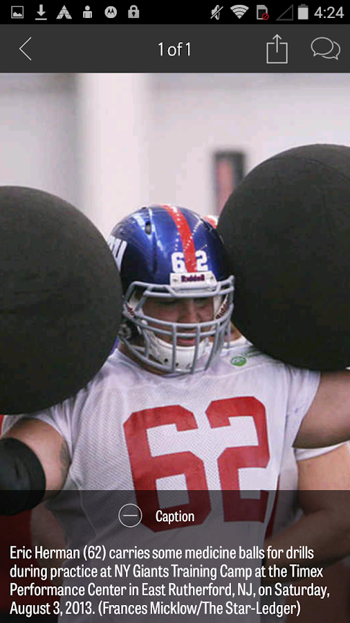NJ.com: New York Giants News- screenshot