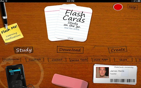 Flashcards To Go - screenshot thumbnail