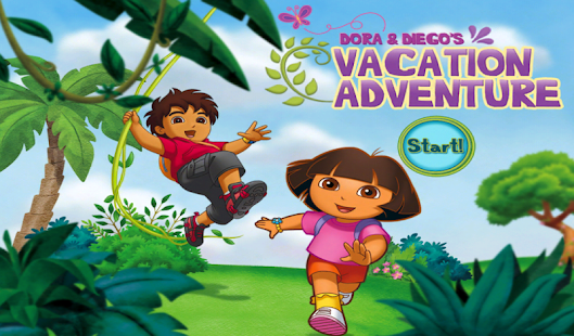 Dora and Diego's Vacation