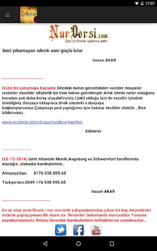 Risale-i Nur Nurdersi.com
