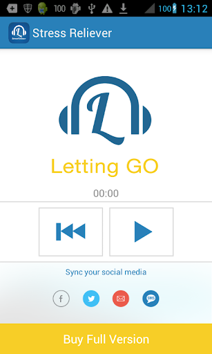 Stress Reliever - Letting Go