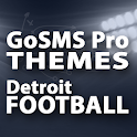 GoSMS Detroit Football Theme icon