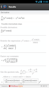 Multivariable Calculus App - screenshot thumbnail