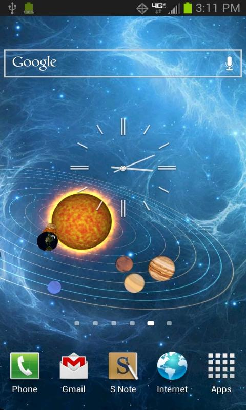 solar system orbits 3d - photo #23