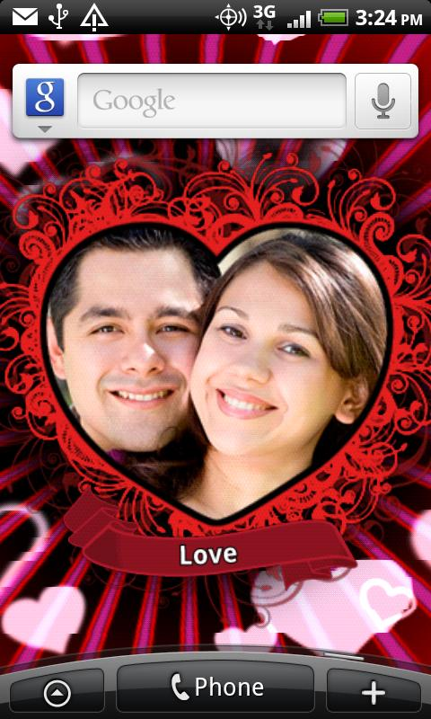 Love Photo Heart Locket - screenshot