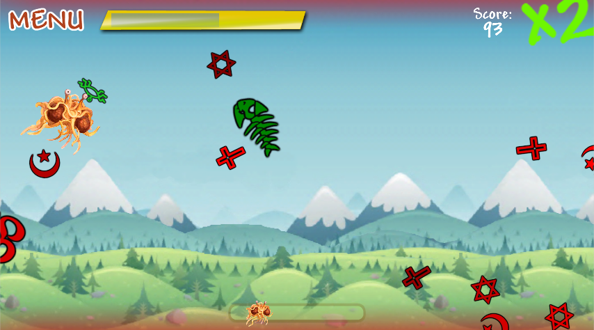 Flying Spaghetti Monster - FSM- screenshot