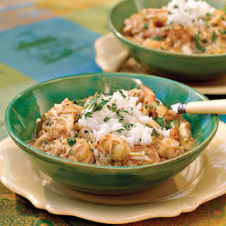Crab-and-Shrimp Étouffée.