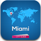 Miami Guide, Map & Hotels icon