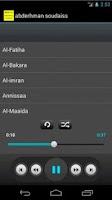 Screenshot of Holy Quran Abdarahman Soudaiss